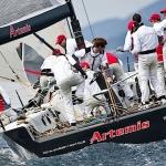 Artemis tränar inför Hublot Palma Vela