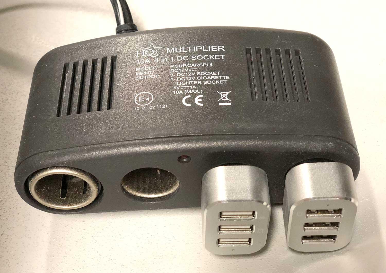 Snygg USB laddning? BLUR