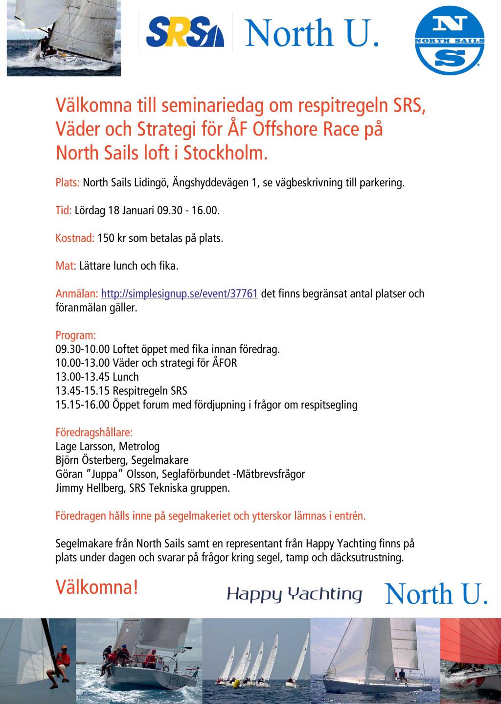 Seminariedag om SRS, väder och strategi för ÅFOR