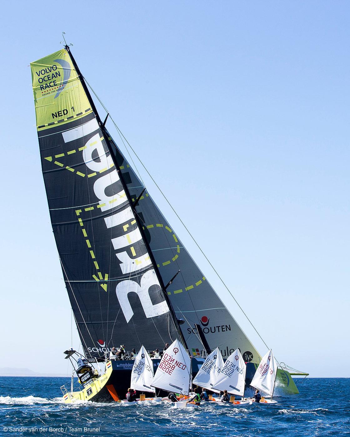 Team Brunel, Lanzarote, Spain