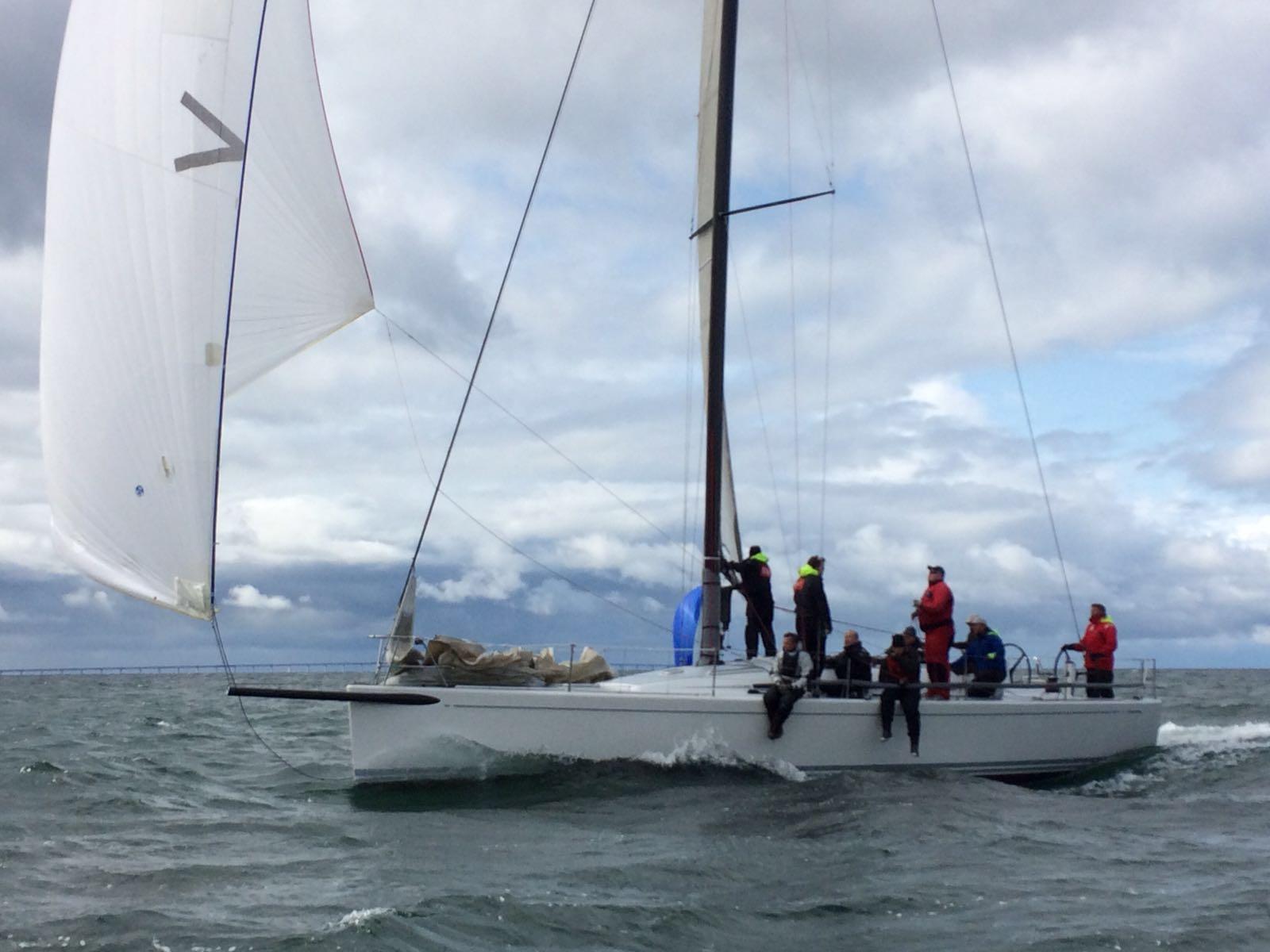 North Sails Trim Cup i full gång