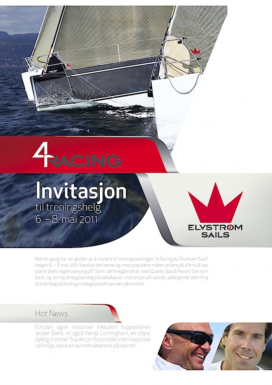4 Racing by Elvstrøm Sails