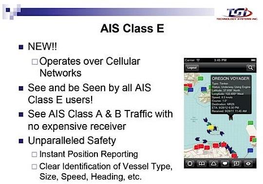 Class E AIS, nästa grej?
