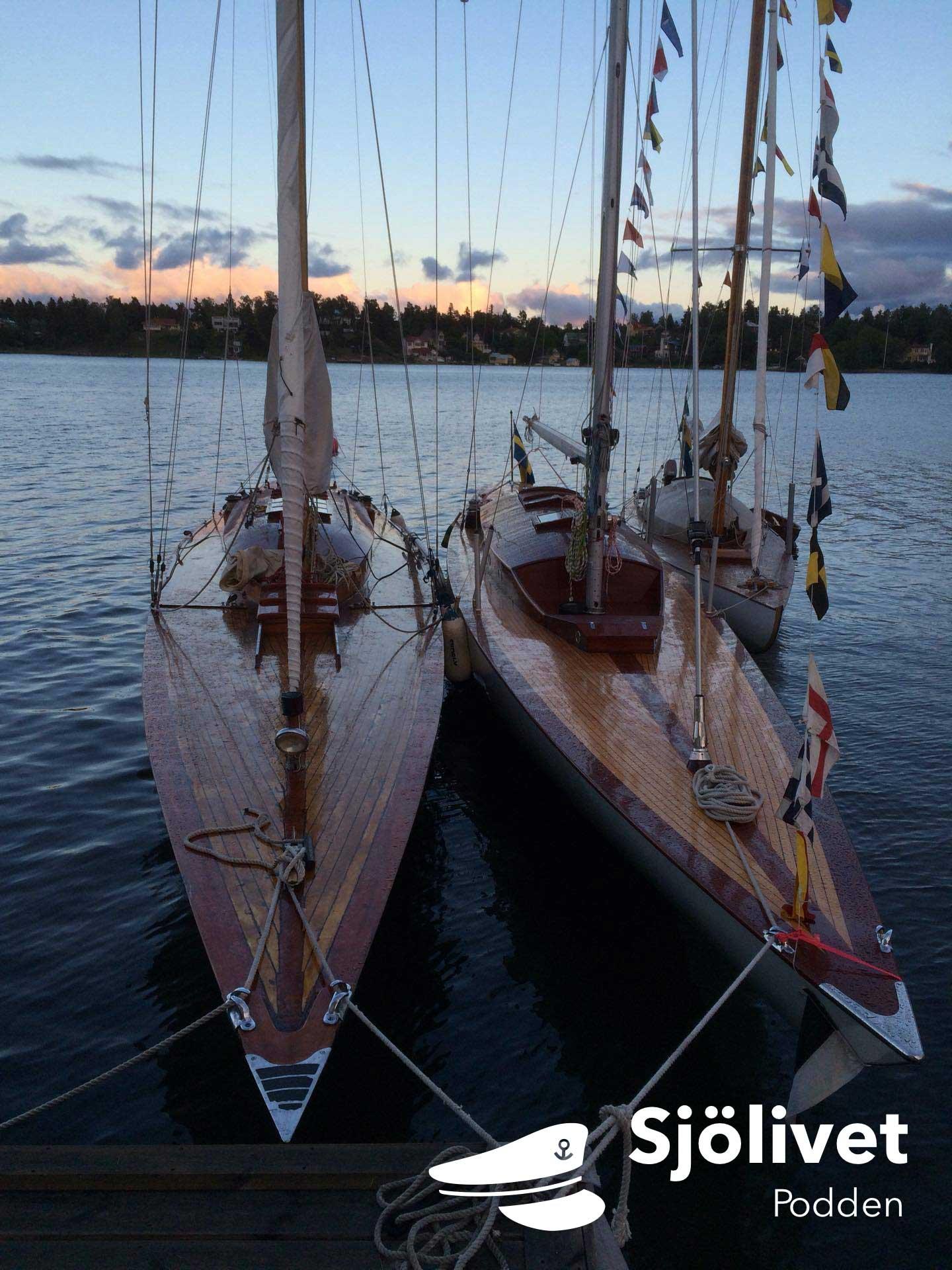 Poddar för seglare