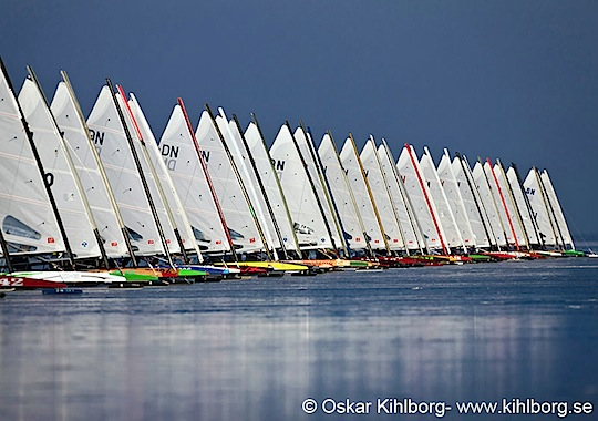 Ice sailing European Championship