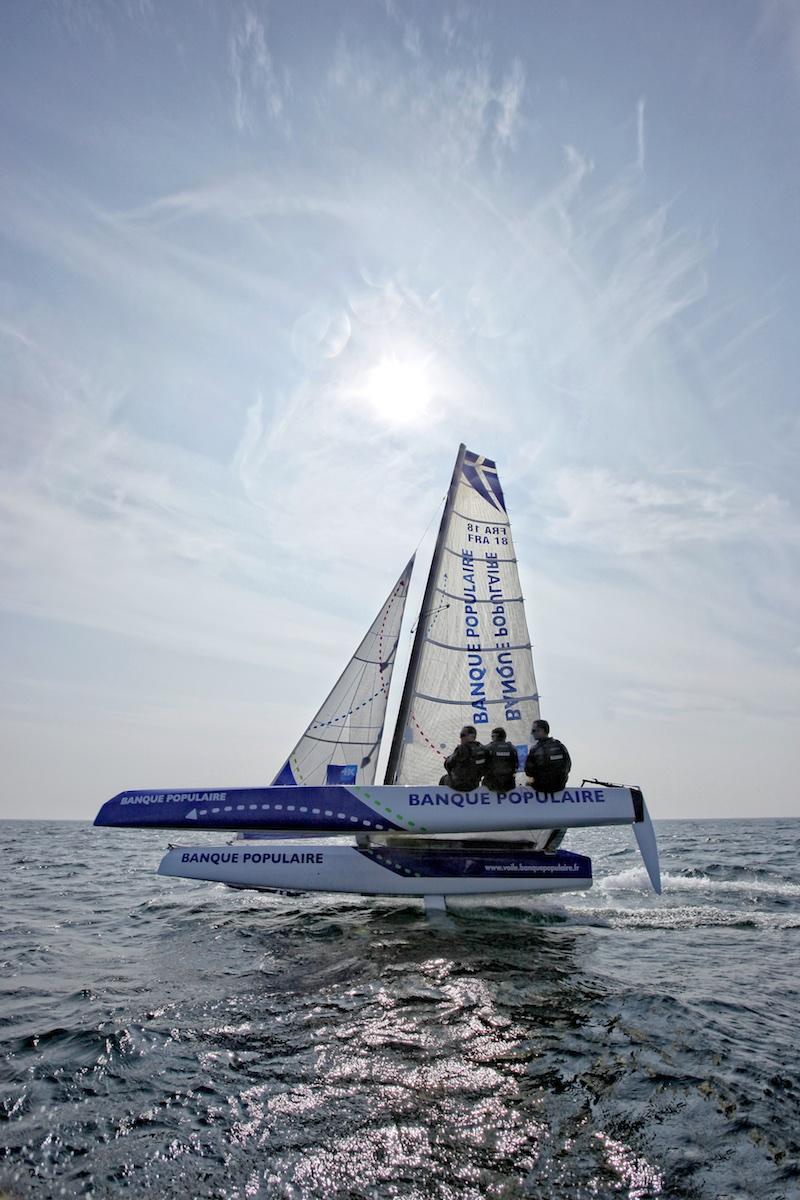 The Diam 24 the new boat for the Tour de France à la Voile 2015.
