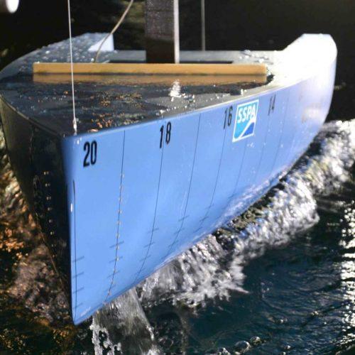 Heyman-hull-test-at-SSPA