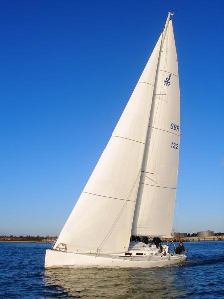 Sweet… J/122 i havet