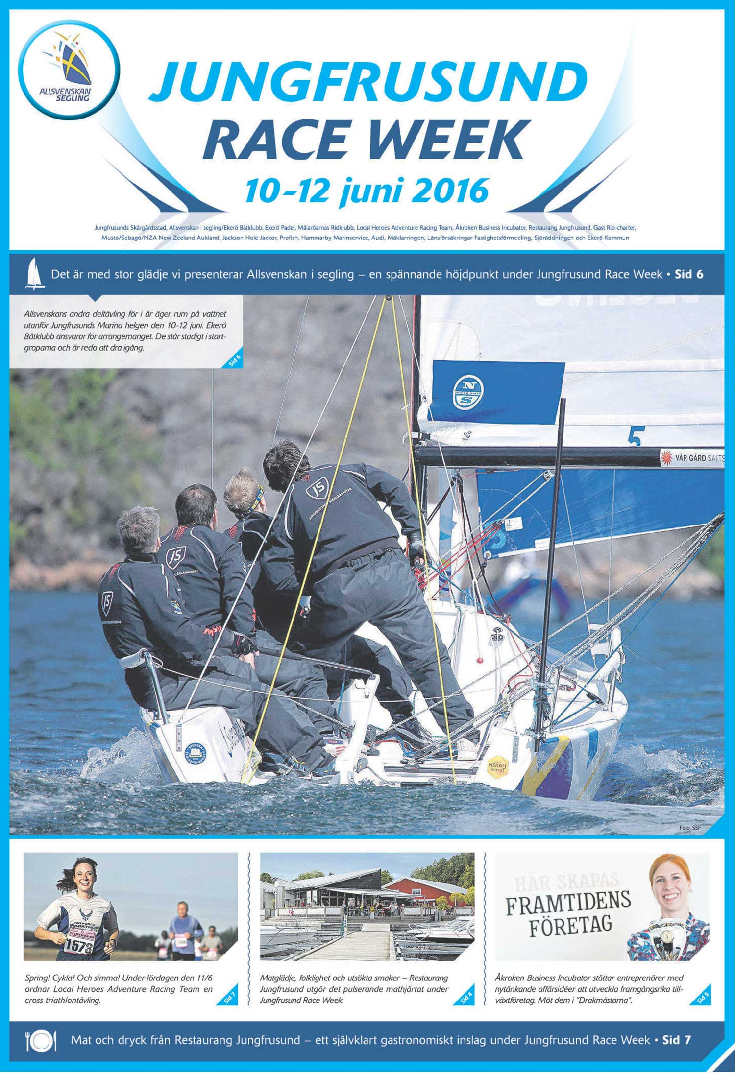 Premiär för Jungfrusund Race Week 10-12 juni