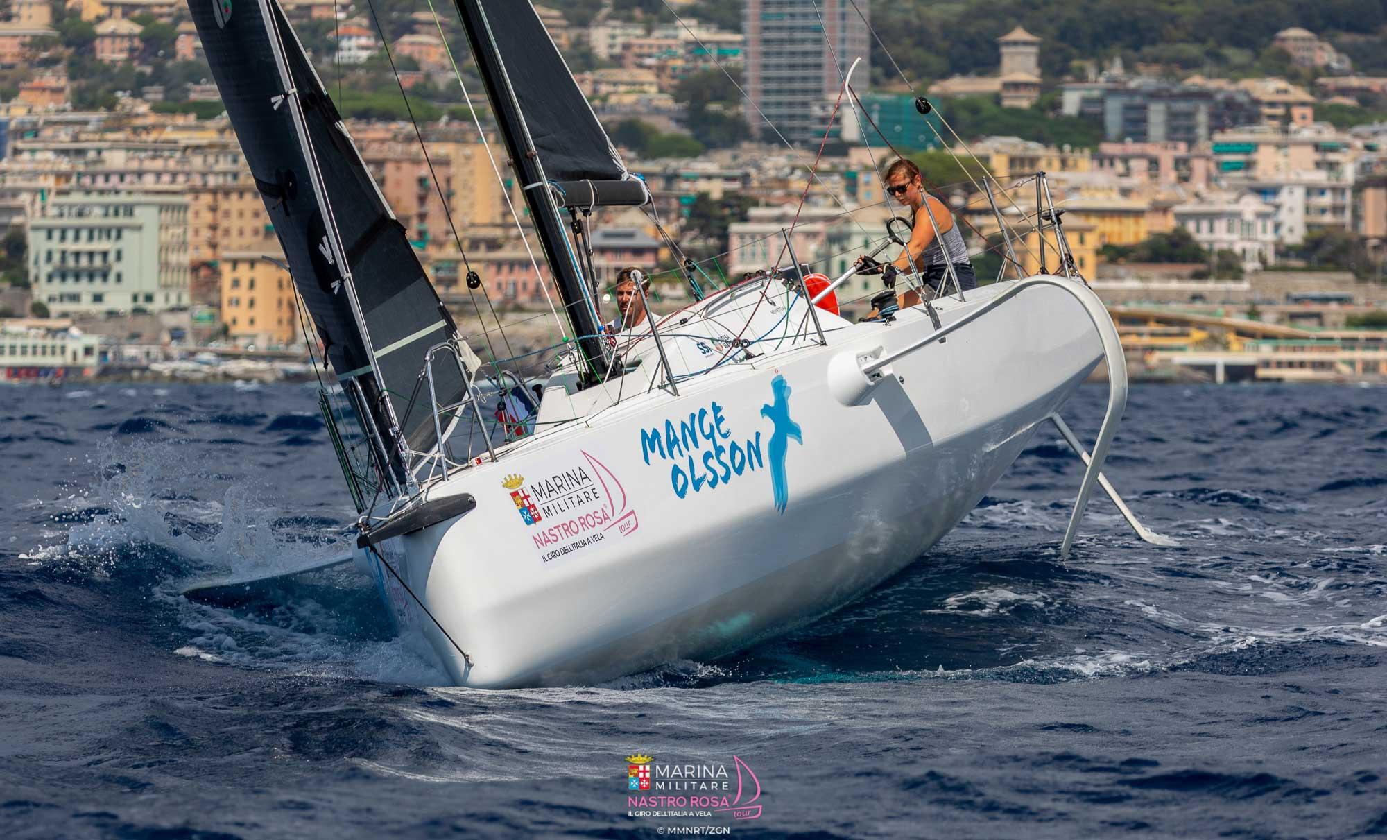 Martin och Linnea seglar EM och VM i Doublehanded Mixed