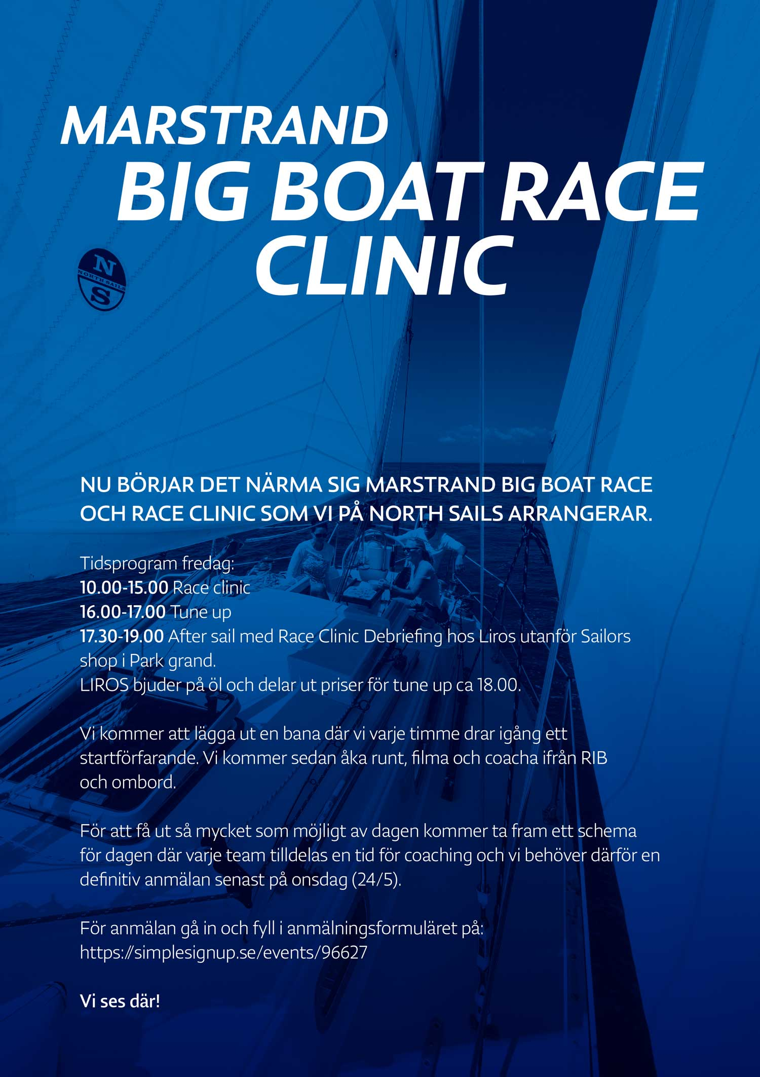 North Sails MBBR Race Clinic