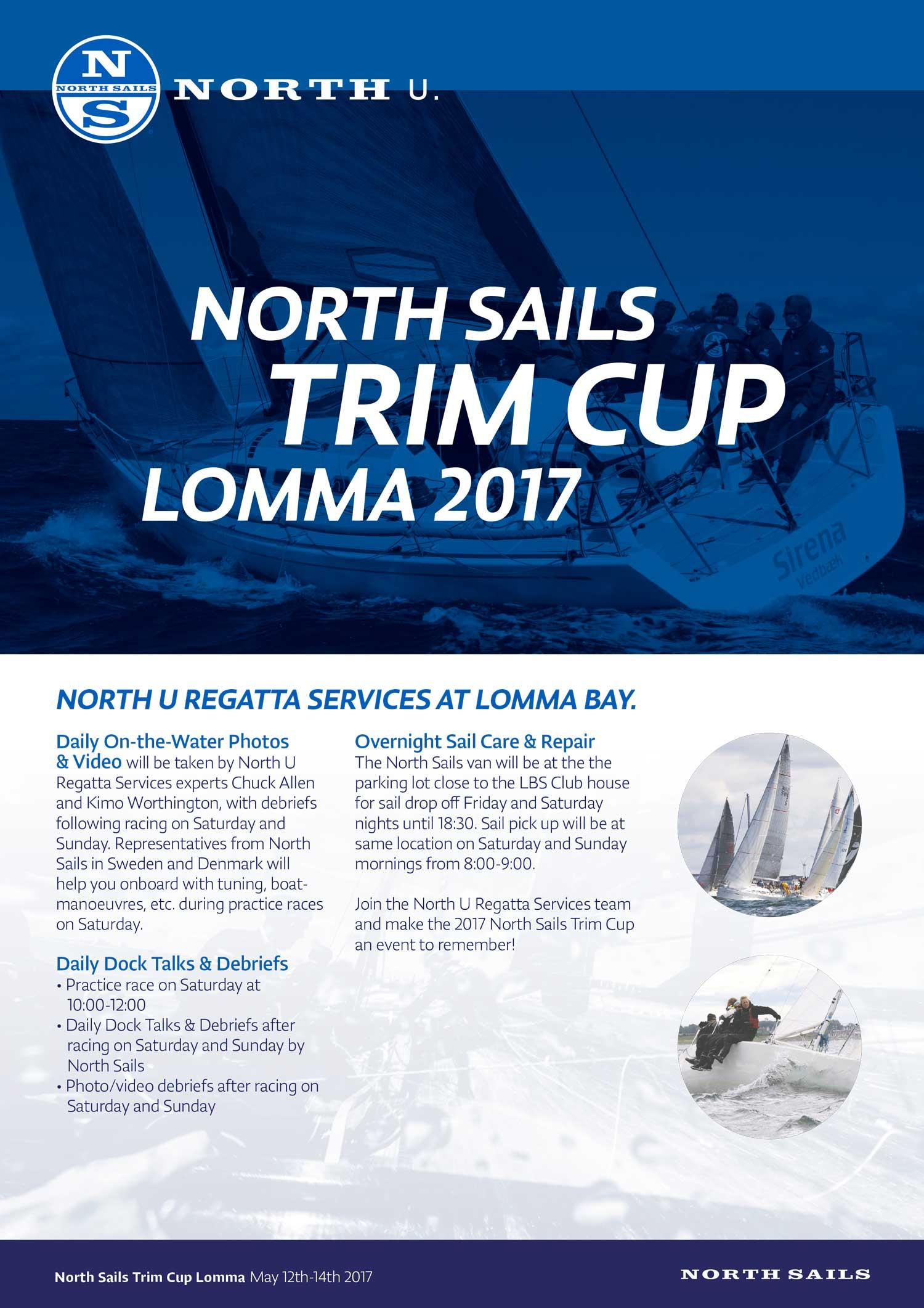 Missa inte North Sails Trim Cup i Lomma