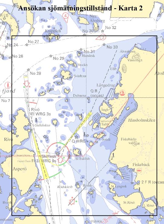 Sjökort över Asperöfjorden?