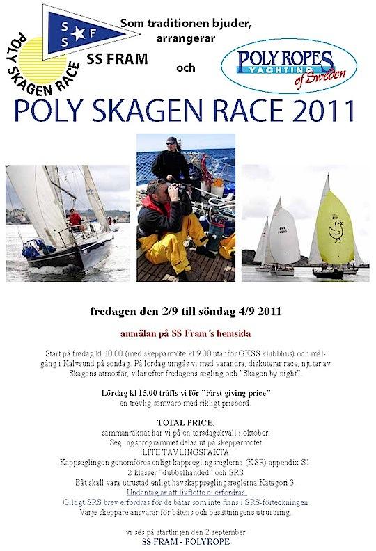 Poly Skagen Race   inbjudan