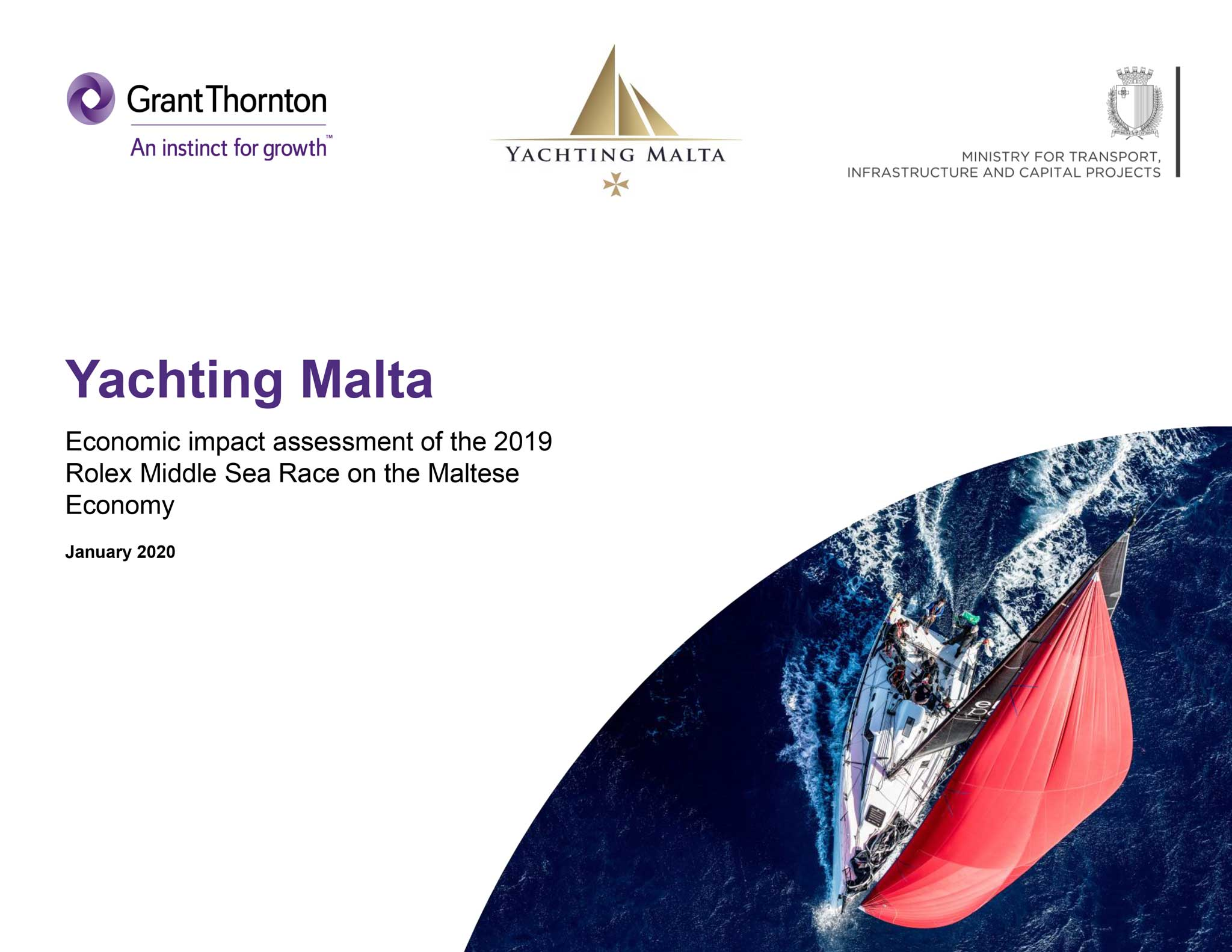 Rolex Middle Sea Race 2019 | Economic impact assessment