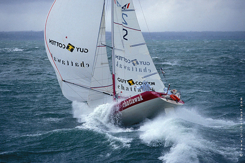 Nyfiken på… Benoît Stichelbaut, seglingsfotograf