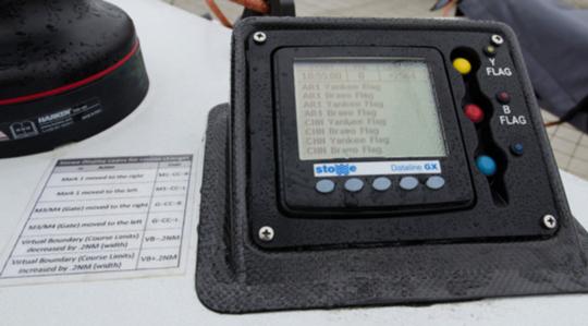 AC45 Helmsman's display