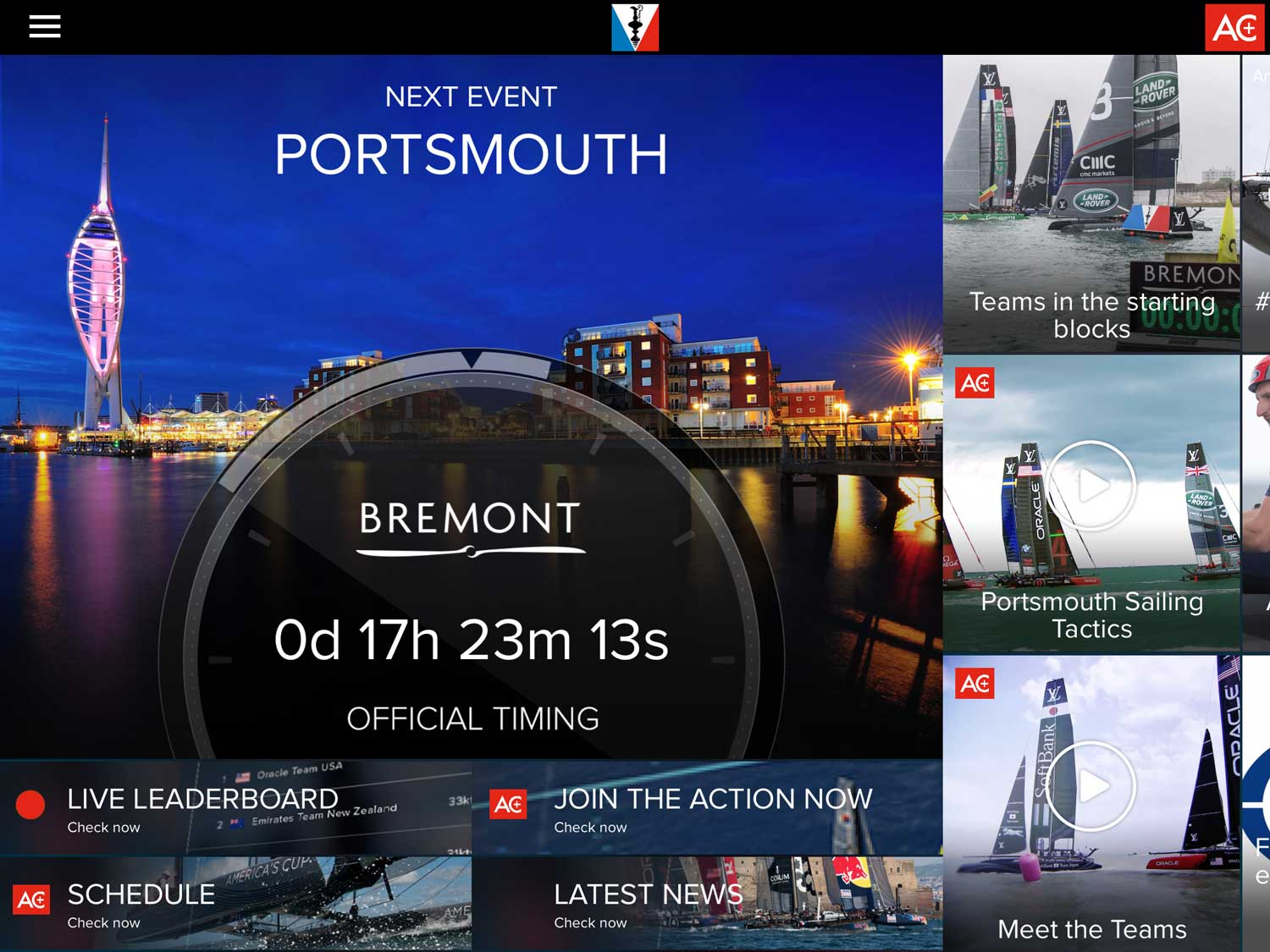 America's Cup World Series | Portsmouth