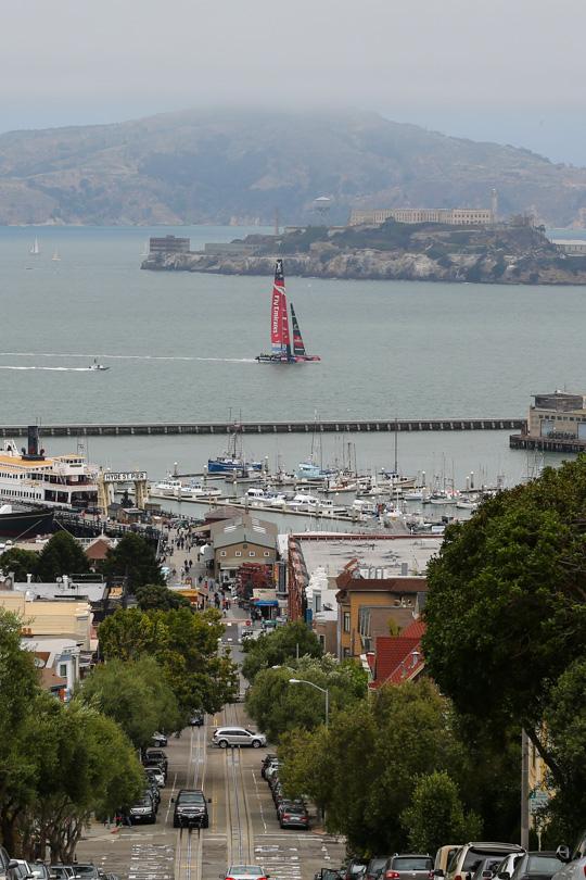 Louis Vuitton Cup i San Francisco