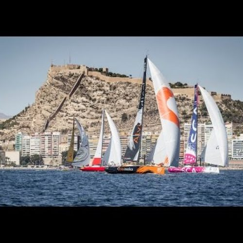 Alicante in-port race | live