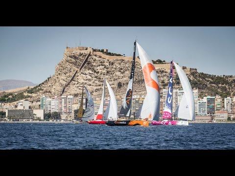Alicante in-port race   live