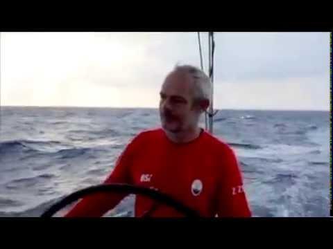 Andreas Axelsson i full fart mot Shanghai