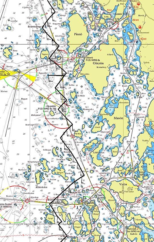 Bohusracet sjökort
