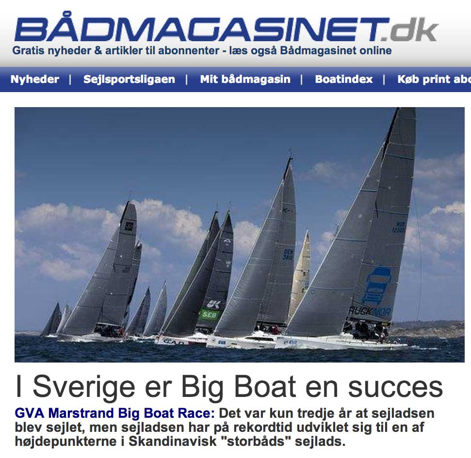 GVA Marstrand Big Boat Race | media