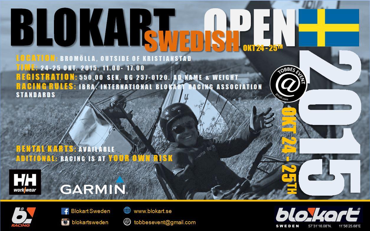 Blokart Swedish Open 2015 i Bromölla