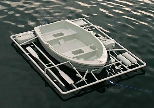 Rets byggsats blur for Boat garage kits