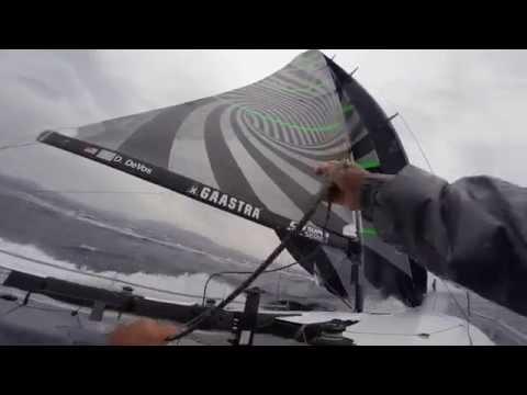 Downwind trimmer Lorenzo Mazza