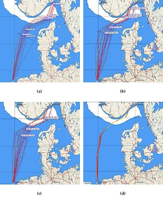 Weather routing & ensembles