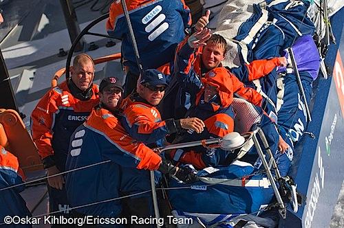 Ericsson | full gas söderut