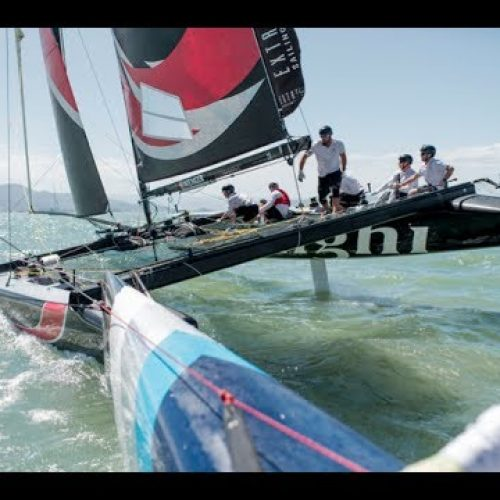 Extreme Sailing Series 2013   highlights