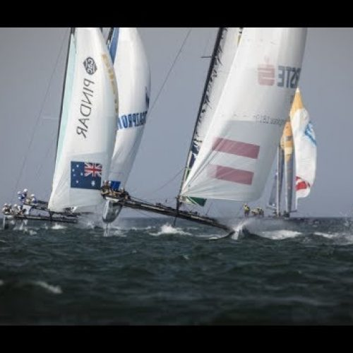 Extreme Sailing Series i Muscat   highlights