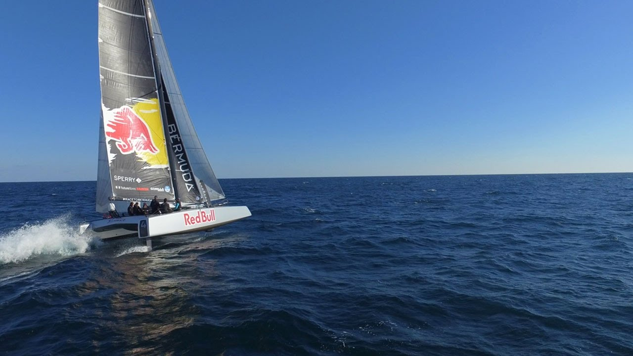 F4   foiling to Bermuda