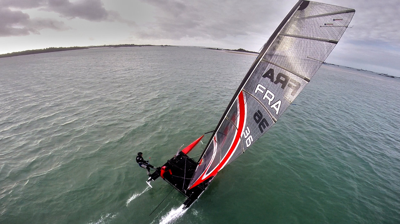 Flying Phantom Sailing Session