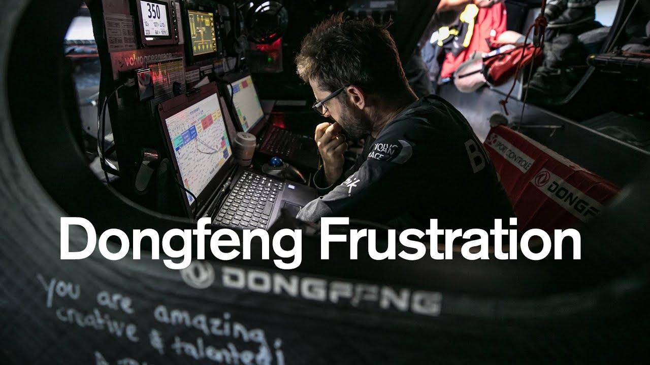 Frustration ombord på Dongfeng