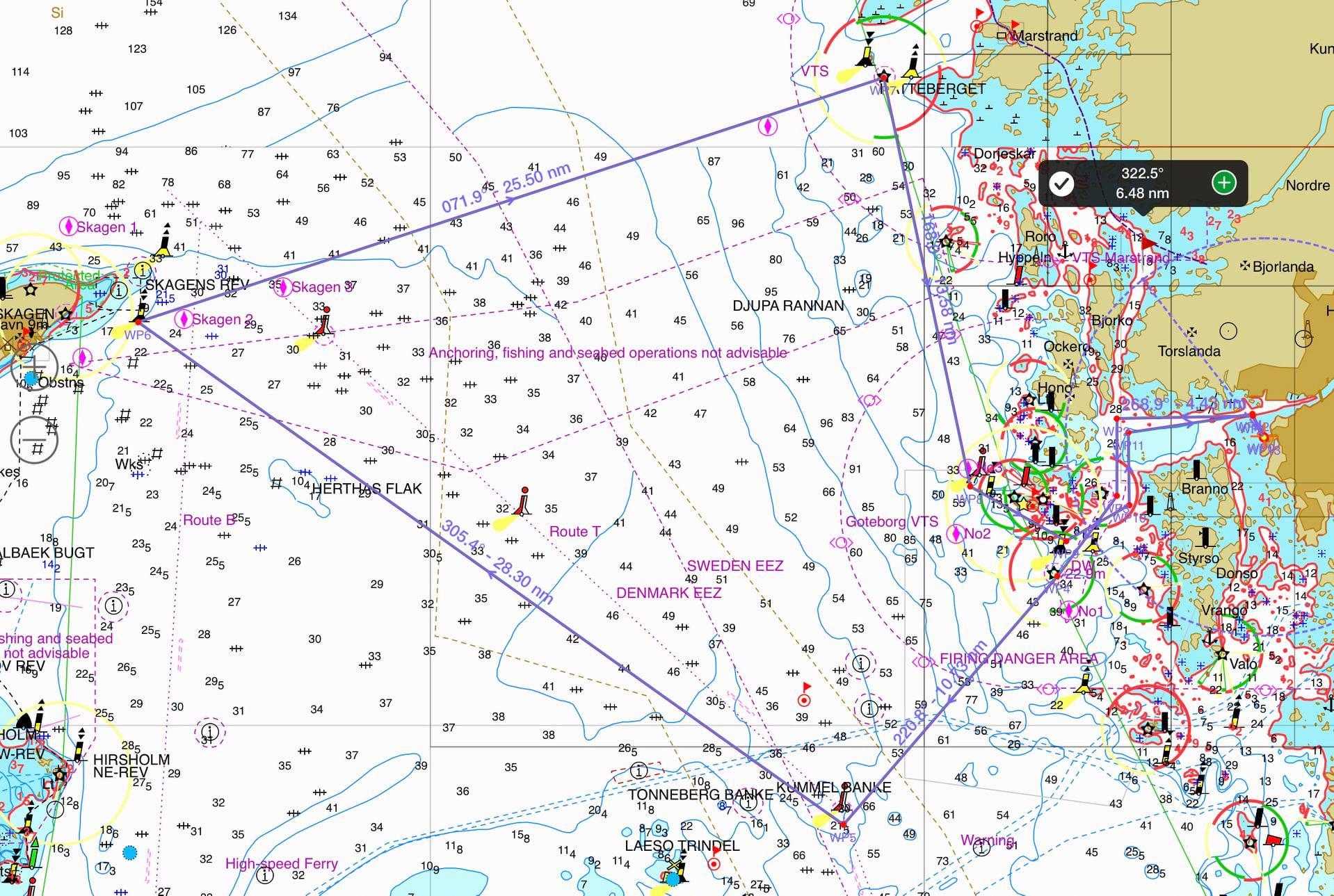 Göteborg Opensea Race på ny bana