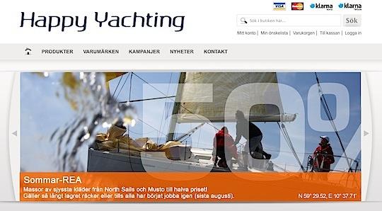 Happy Yachting hittar hem