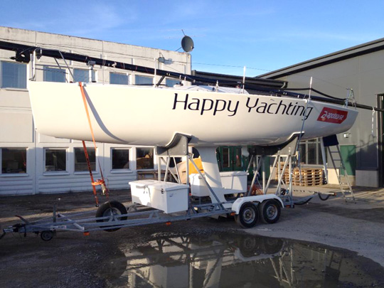 Farr 30 Happy Yachting