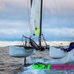 Foiling F18 = 32.1 knots