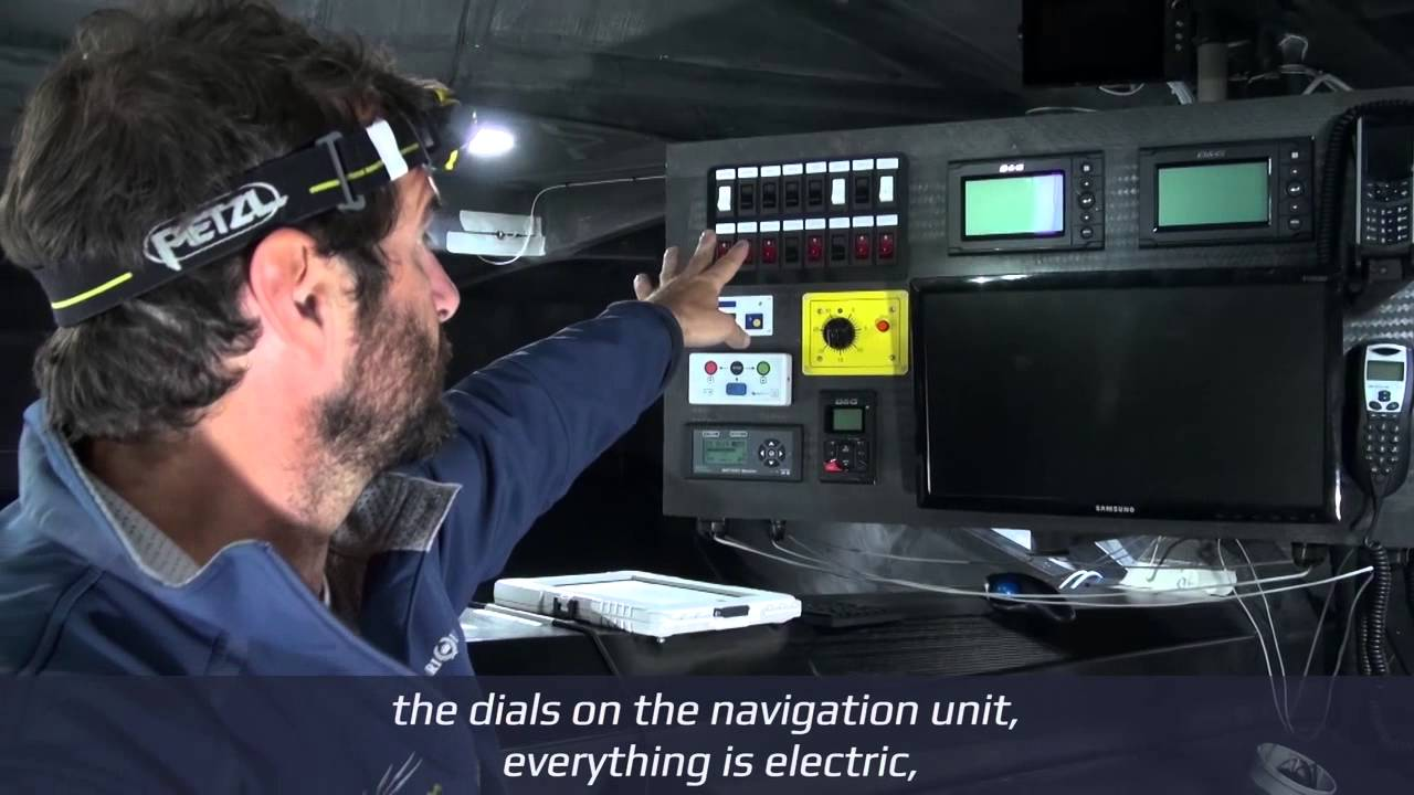 IMOCA 60 | Inside the belly of the beast