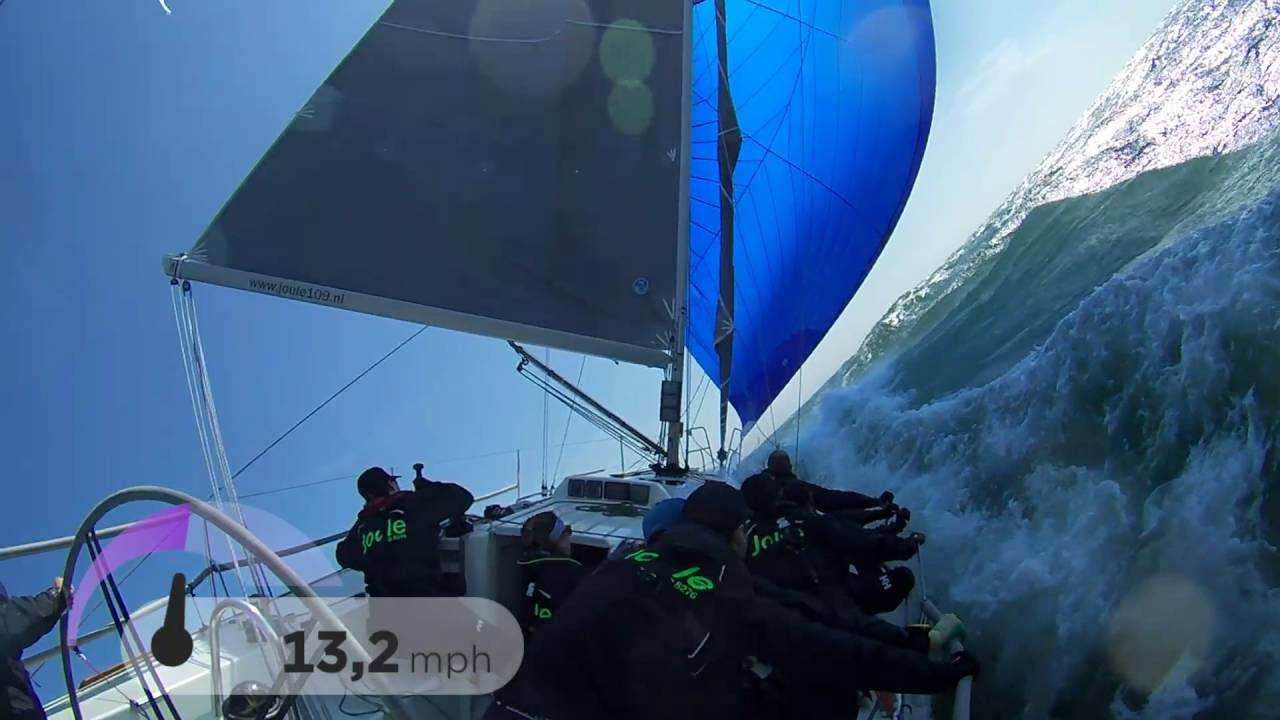 J/109 Spinnaker Blues!