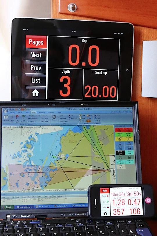 Ventus Navigator för Expedition