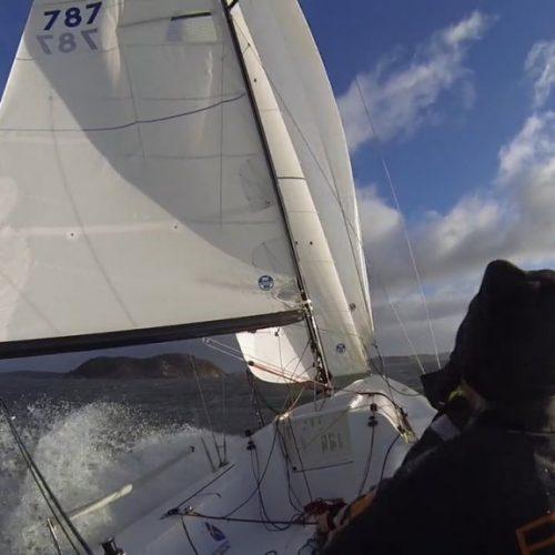 J/70-träning på Nordön
