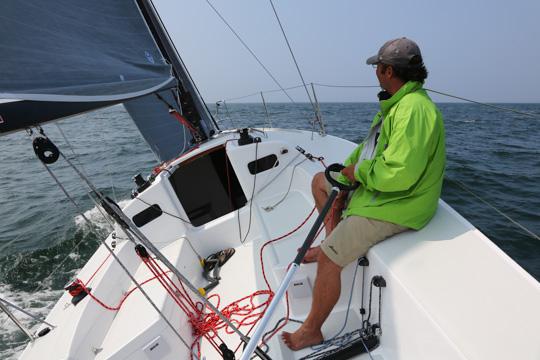 J/88 Test Sail in Newport