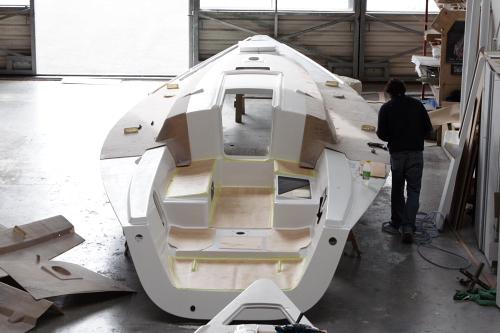 J/109 build @ J/Europe