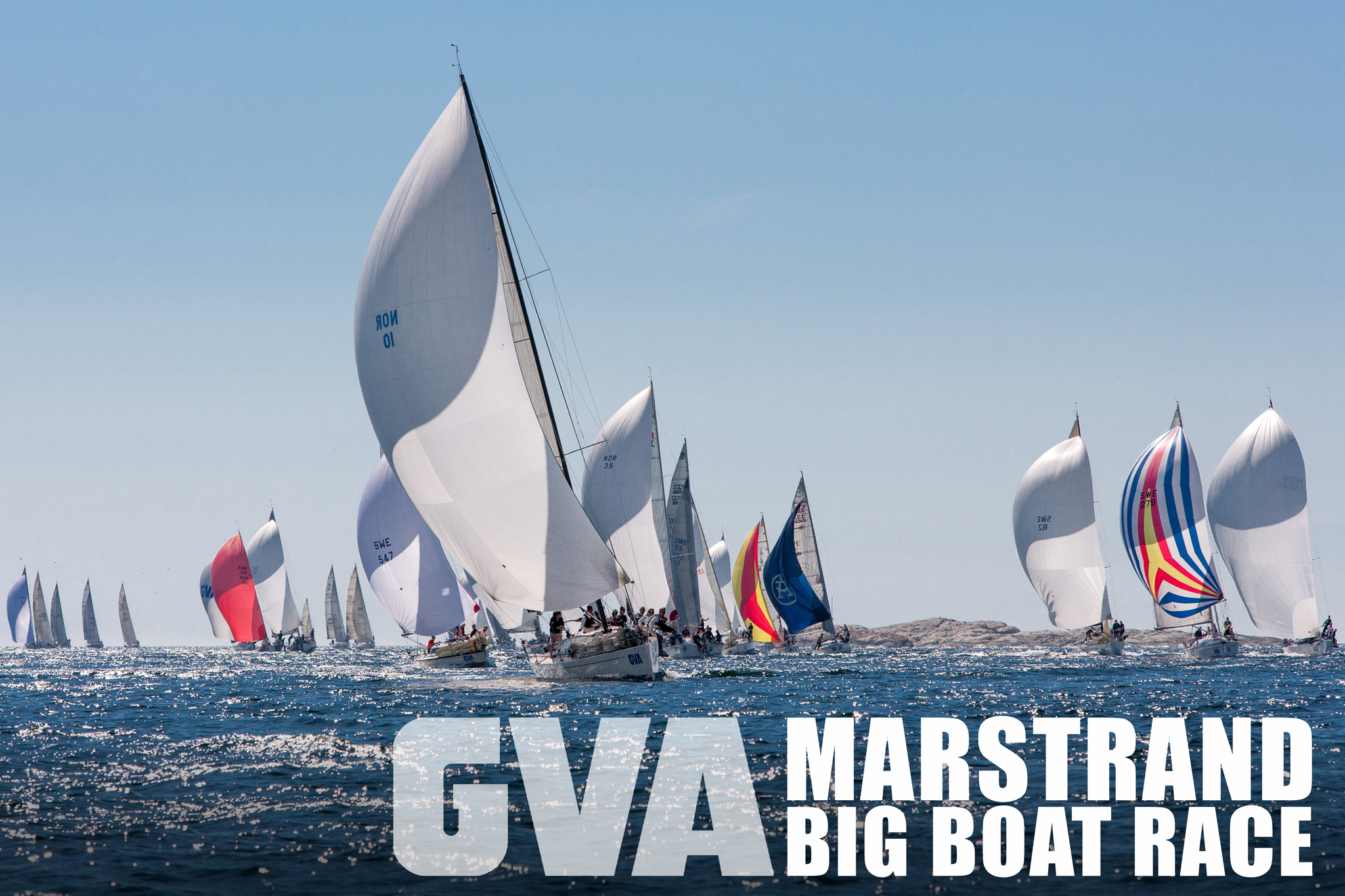 Marstrand Big Boat Race 2014 Poster