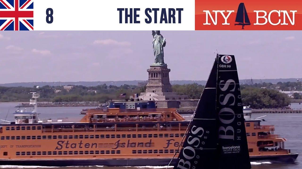 NY to Barcelona Race | start